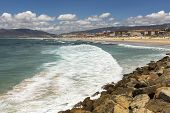 picture of tarifa  - Beach landscape in the city of Tarifa - JPG
