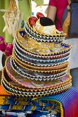 pic of vaquero  - stack of mexican hats - JPG