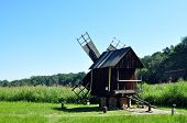 picture of sibiu  - sibiu romania ethno museum wood wind mill