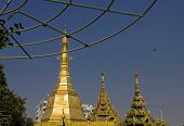 stock photo of yangon  - Yangon is a former capital of Burma  - JPG