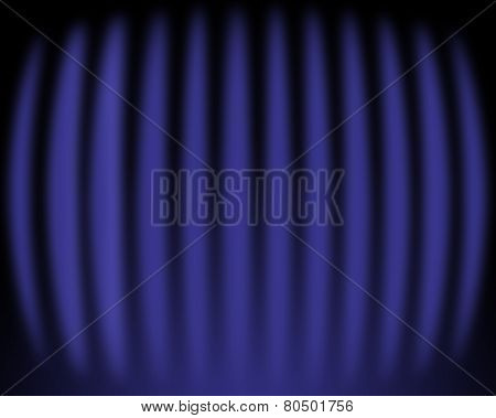 Curved Glowing Background