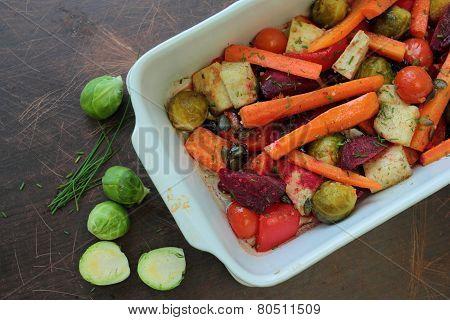 Roasted vegetable
