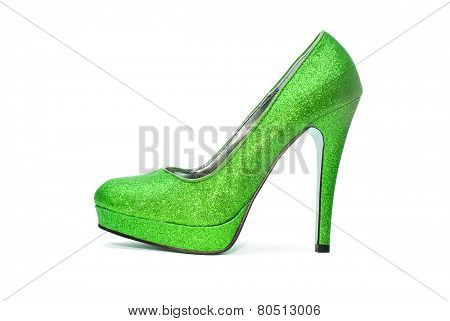 Womens Sparkly High Heels