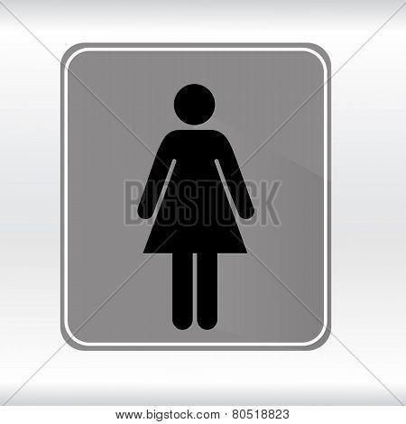 symbol toilet