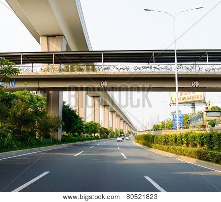 SHENZHEN, CHINA-APRIL 15: Longgang District on April 15, 2014 in Shenzhen, China. ShenZhen is regarded as one of the most successful Special Economic Zones.