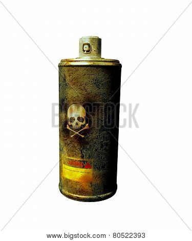Rusty Spray Can