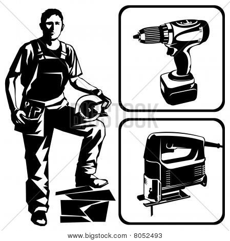 Worker and tools
