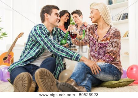 Courting At House Party