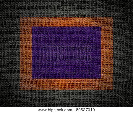 purple linen rustic jute texture or background