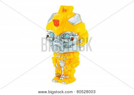 Bumblebee Toy Character From Transformers Movie Series.