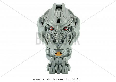 Megatron Toy Character From Transformers Movie Series.