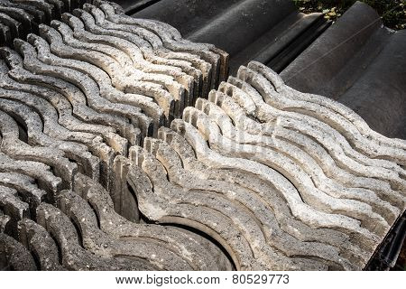 Roof Tiles Stacked
