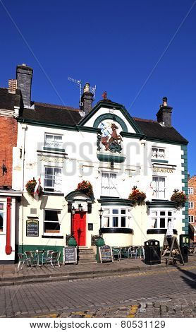 George and Dragon Pub, Ashbourne.