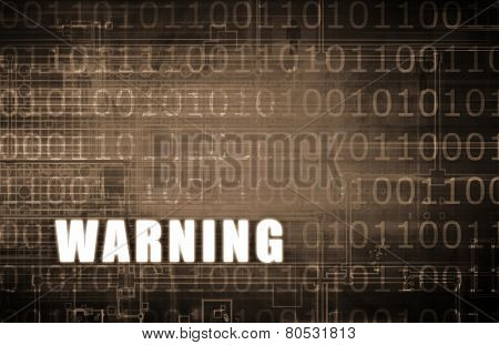 Warning on a Digital Binary Warning Abstract