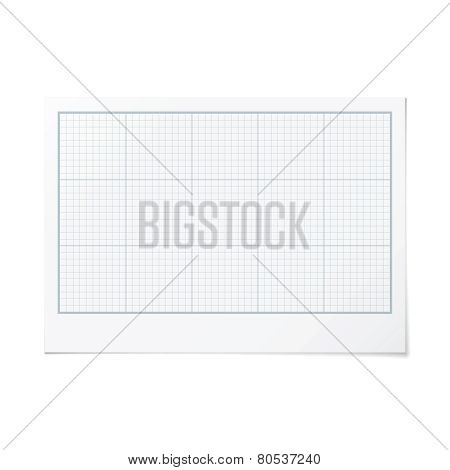 Vector Landscape Orientation Engineering Graph Paper