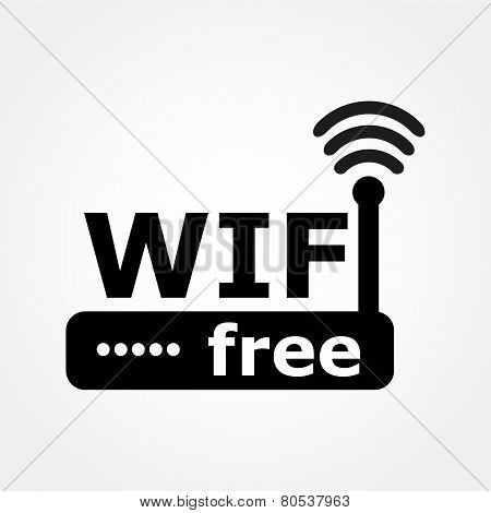 Router And Wi Fi Icon