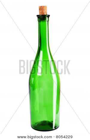 Empty Wine Bottle