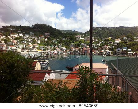 Grenada from the top