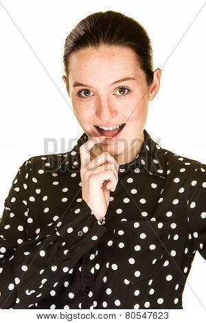 Attractive Flirty Girl