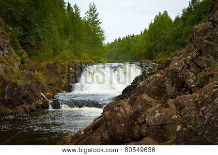 Kivach Falls, Karelia