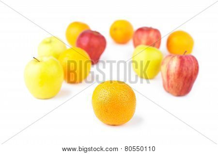 Orange And Fruit Mix