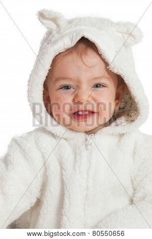 Baby Boy Dressed As Bunny