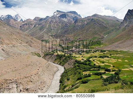 Suru Valley - Way To Zanskar - Jammu And Kashmir - India