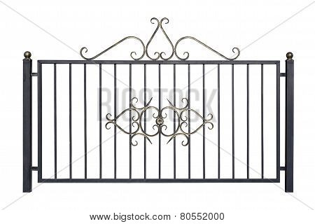Decorative Fence For The Park And At Home.
