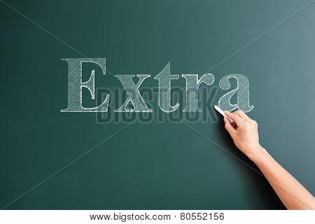 writing extra on blackboard