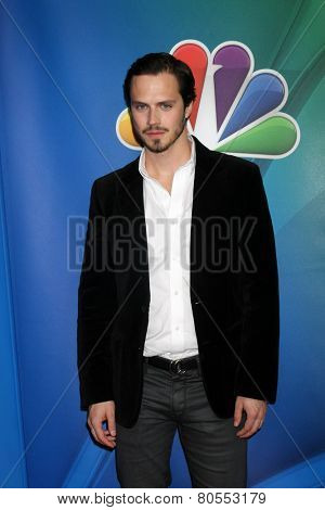 LOS ANGELES - DEC 16:  Jake Robsinon at the NBCUniversal TCA Press Tour at the Huntington Langham Hotel on December 16, 2015 in Pasadena, CA