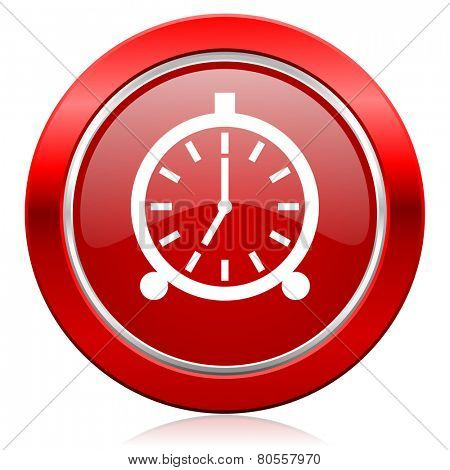 alarm icon alarm clock sign