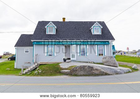 Shop In Peggys Cove