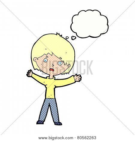 cartoon stressed person