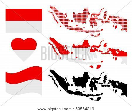 Map Of Indonesia