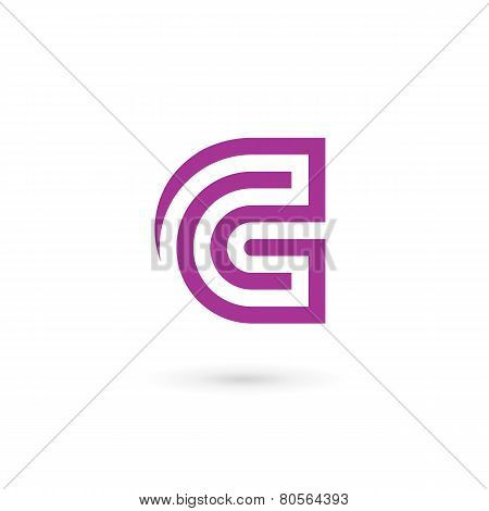 Letter C Logo Icon Design Template Elements