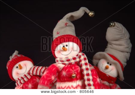 Frolicking Snowpeople