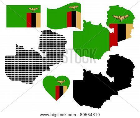 Map Zambia