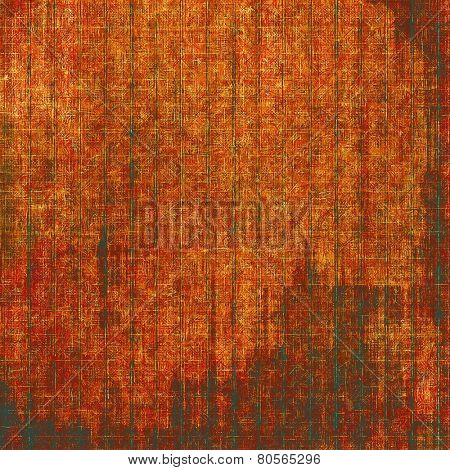 Old, grunge background texture. With different color patterns: yellow (beige); red (orange); brown; black