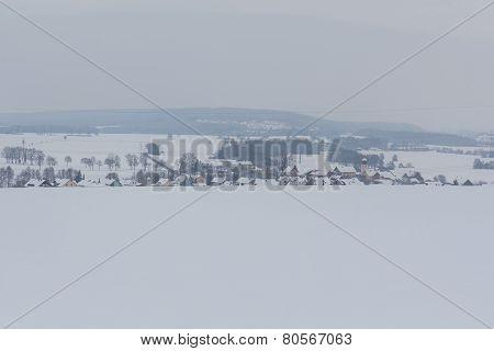 Goegglbach In Winter