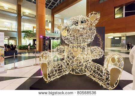 Decoration At 360 Mall in Kuwait