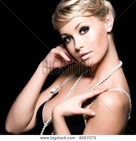 Beautiful Glamour Woman
