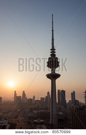 The Liberation Tower in Kuwait City