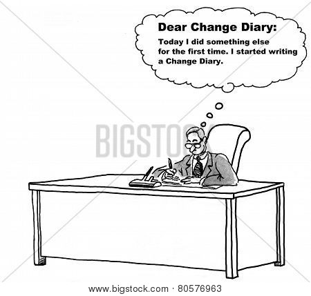 Change Management Diary