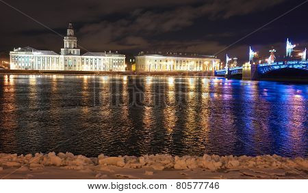 Night Saint-Petersburg.