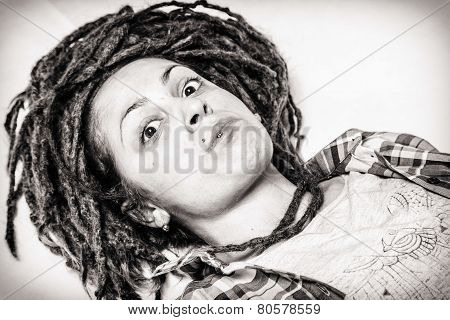 Girl with dread