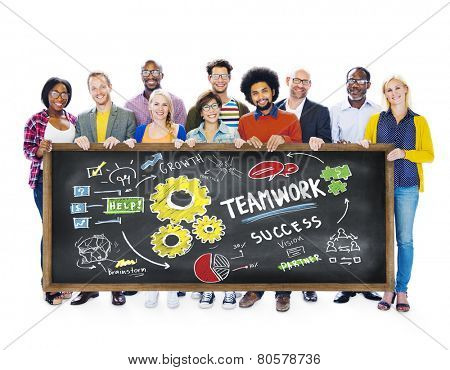 Teamwork Team Together Collaboration Education Learning Students Concept