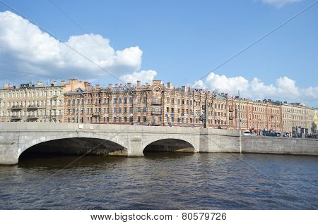 Obukhov Bridge, St. Petersburg.