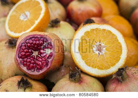 Pomegranate & Orange