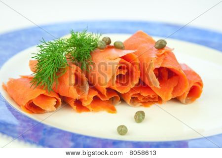 Smoked Salmon, Lox