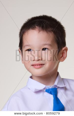 Asian school boy Portrait